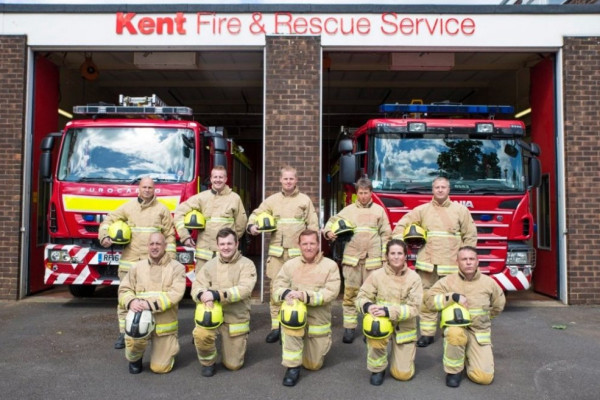 Kent Fire are visiting Phoenix Support on the 2nd of September!